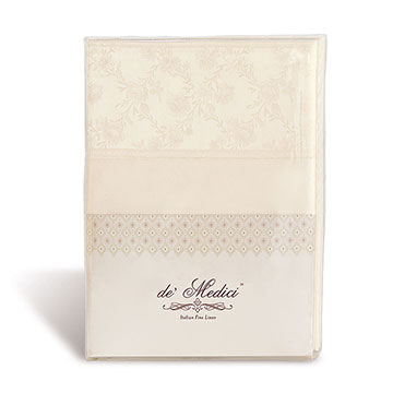 MILLEFLEUR ECRU SHEET SET
