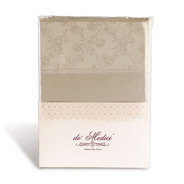 MILLEFLEUR SABLE SHEET SET
