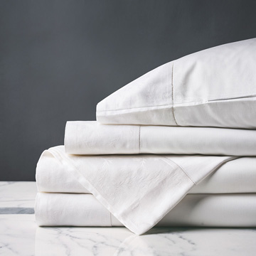 MILLEFLEUR WHITE SHEET SET