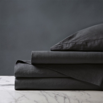 Shiloh Charcoal Sheet Set