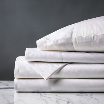 ORNATO WHITE SHEET SET