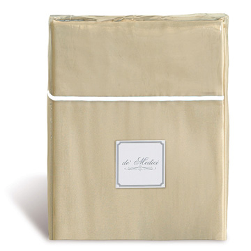 LINEA SABLE/WHITE SHEET SET