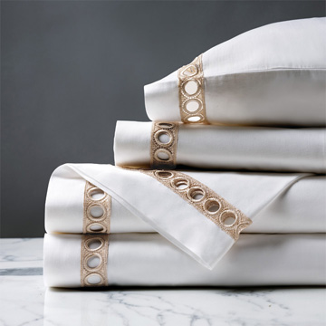 CELINE CHAMPAGNE SHEET SET