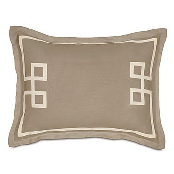 Resort Bisque Fret Standard Sham