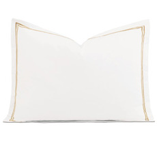 ENZO WHITE/ANTIQUE STANDARD SHAM