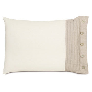 Filly White Standard Sham Right