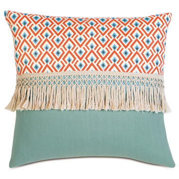 Lobel Reef/Breeze Aqua WITH Fringe