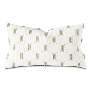 CHILMARK FIL COUPE DECORATIVE PILLOW