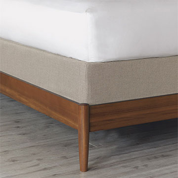 Greer Linen Box Spring Cover
