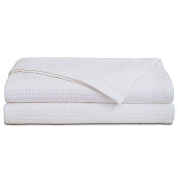 Albany White Coverlet
