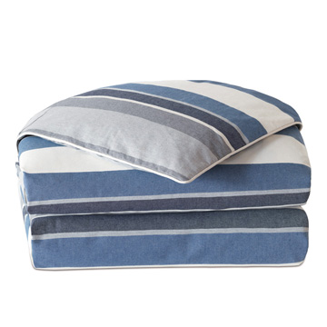 Bertrand Denim Duvet Cover and Comforter
