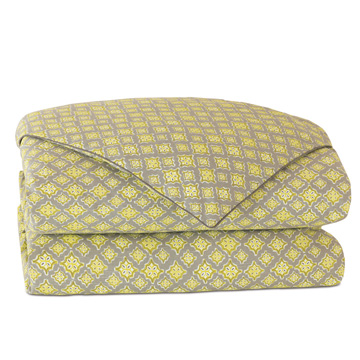 Kemal Citron Duvet Cover and Comforter
