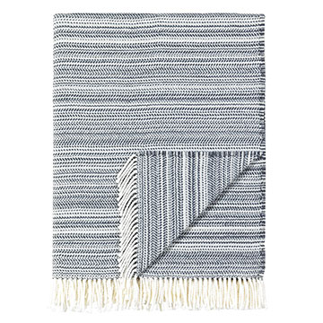 Strié Slate Throw