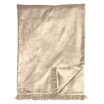 LUCERNE TAUPE THROW