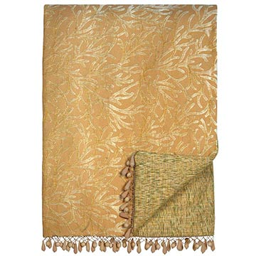 AUGUSTINE GOLD THROW