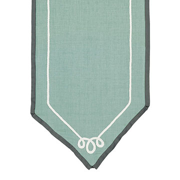 MARNY MINT TABLE RUNNER