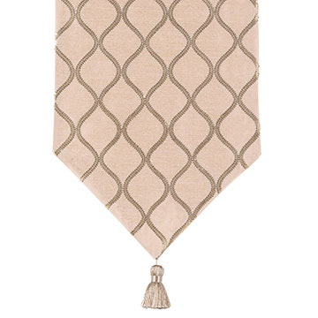 Bardot Bisque Table Runner