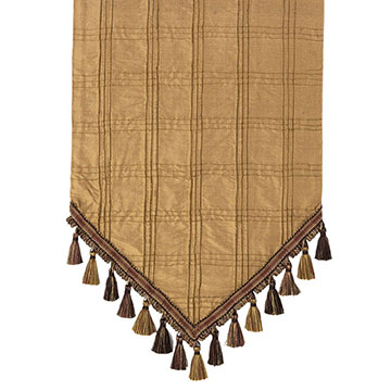 RIO GOLD TABLE RUNNER