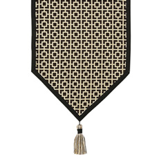 SHOJI BLACK TABLE RUNNER