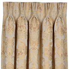 BAINBRIDGE GOLDEN CURTAIN PANEL