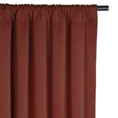 FOSTER GARNET CURTAIN PANEL