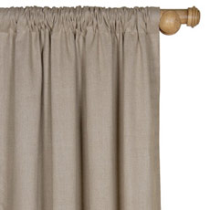 BREEZE LINEN CURTAIN PANEL