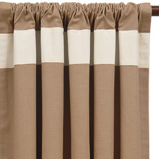 BREEZE SAND CURTAIN PANEL