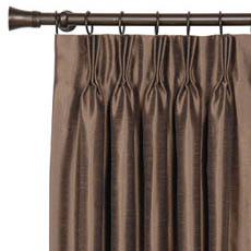 FLORHAM ESPRESSO CURTAIN PANEL