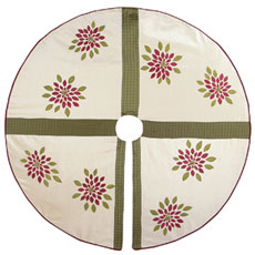 WALTZ OF THE FLOWERS TREE SKIRT