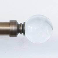 Metallo Crystal Ball - Brushed Brass