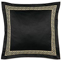 Abernathy Greek Key Decorative Pillow