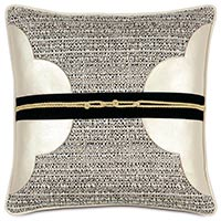 Abernathy Quatrefoil Decorative Pillow