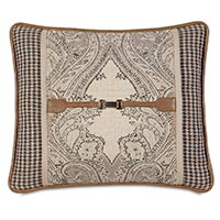 Aiden Buckle Decorative Pillow
