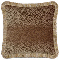 CONGO GOLD & BROWN PILLOW A