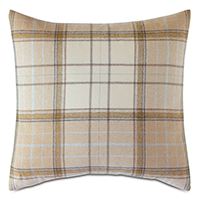 ALDRICH PLAID DECORATIVE PILLOW