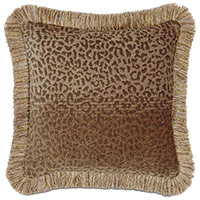 Congo Gold & Brown Pillow C