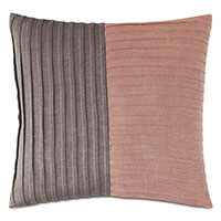 Fossil Pleated Decorative Pillow