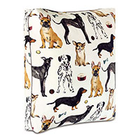 TOMPKINS NOVELTY DOGS FLOOR PILLOW