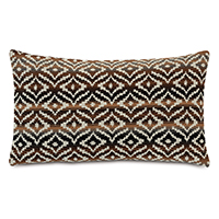 Hancock Decorative Pillow In Brown