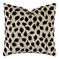 Park Avenue Animal Print Decorative Pillow