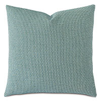 TWIN PALMS TEXTURED DECORATIVE PILLOW