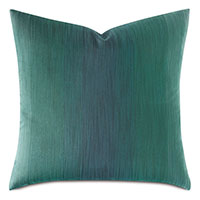 TWIN PALMS OMBRE DECORATIVE PILLOW