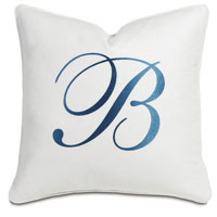 BREEZE WHITE WITH MONOGRAM