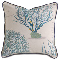 ASTERN AQUA DEC PILLOW