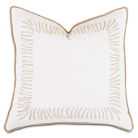 Brentwood Handpainted Decorative Pillow