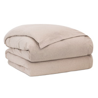 Summit Sand Duvet Cover King