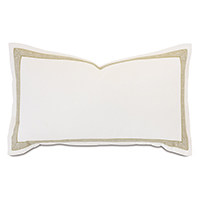 Palisades Mitered Trim King Sham