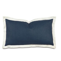 Bel Air Linen King Sham in Indigo