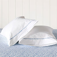 Tanner Indigo Pillowcase