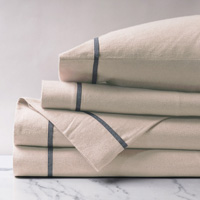 Summit Sand w/ribbon Sheet Set